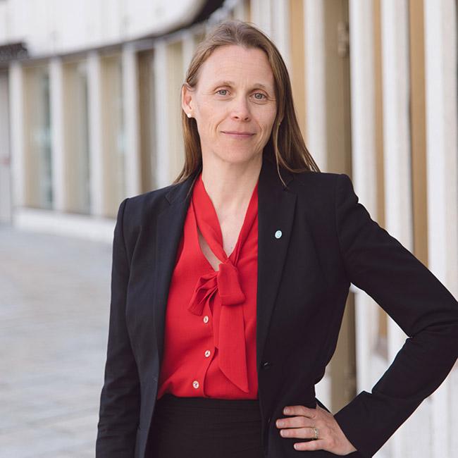 Lise Lyngsnes Randeberg er president i organisasjonen Tekna