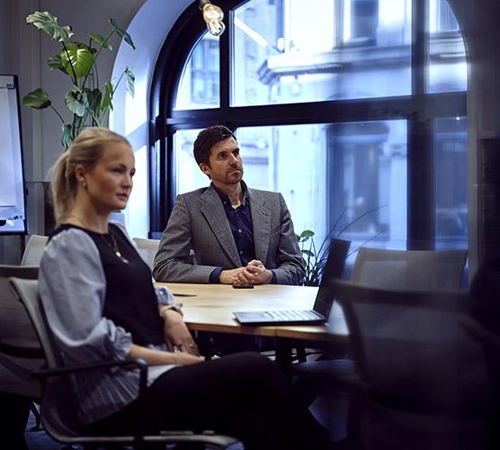 2 kollegaer fra ProdataConsult Norge i møte